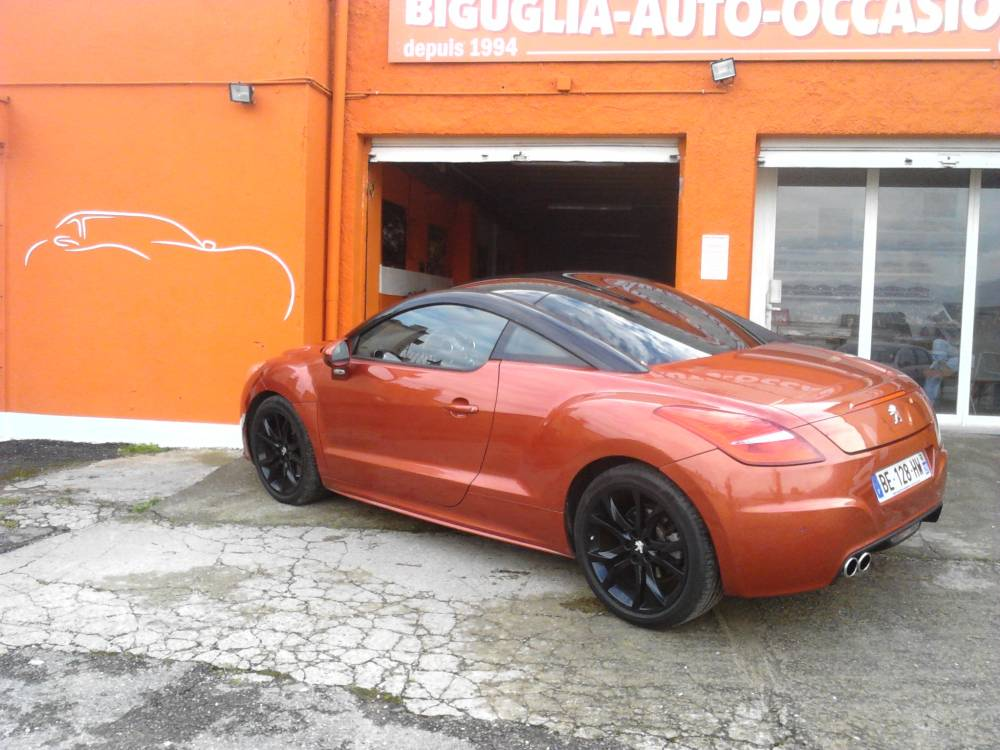 peugeot rcz rcz 2 0 163cv 9cv nos occasions v hicules en corse vente occasion bastia. Black Bedroom Furniture Sets. Home Design Ideas