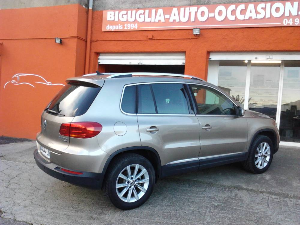 volkswagen tiguan super tiguan 2 0 tdi 140 fulls options nos occasions v hicules en corse vente. Black Bedroom Furniture Sets. Home Design Ideas